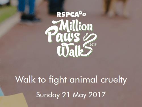 RSPCA Million Paws Walk 2017 | Ark Vets
