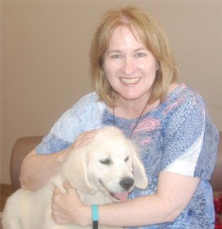Diane, administrator at the Ark veterinary hospital in Lindfield