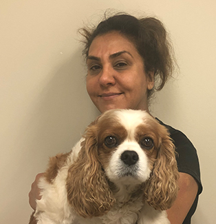 Kat is the Groomer of the Ark veterinary hospital