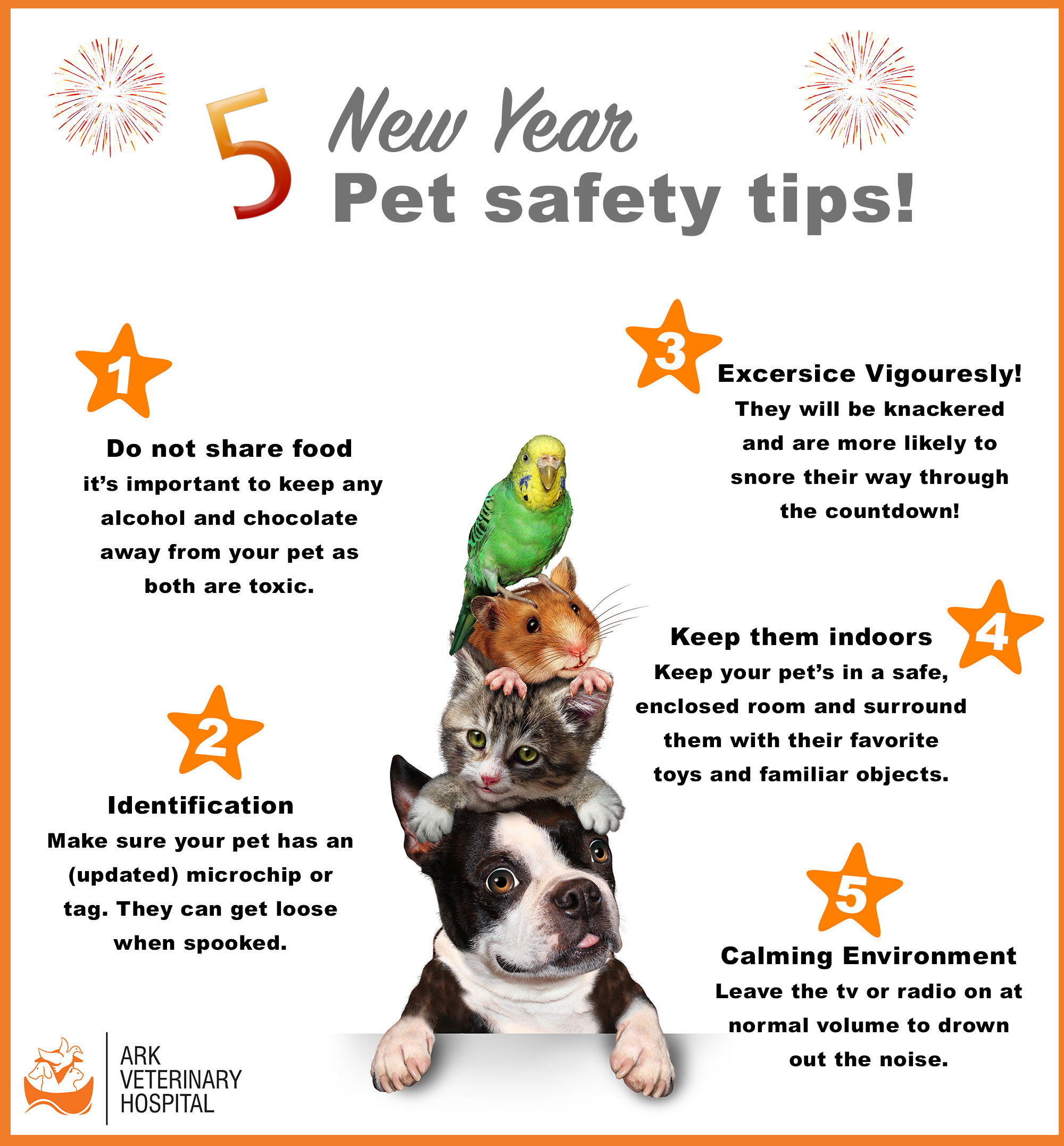 5 tips to keep your pets safe
